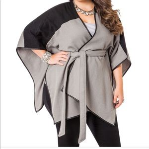Belted Two Tone Wrap